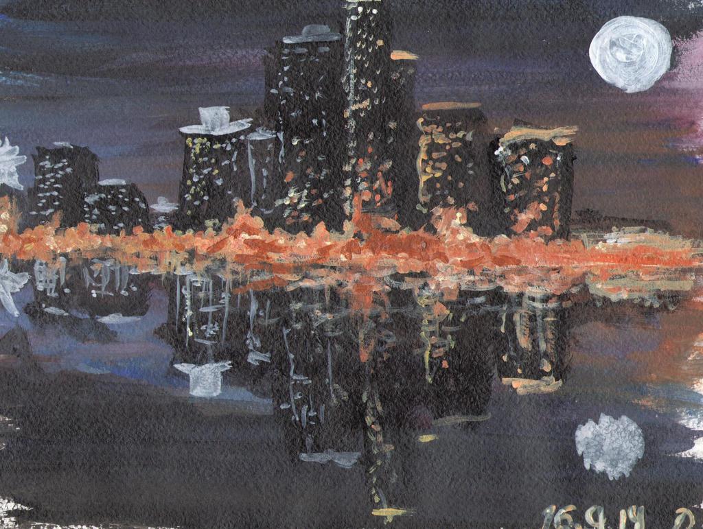 Night city by MagicDanna