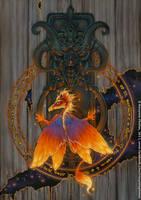 The Dragon's Door by ravynnephelan