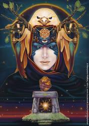 Destiny - Dreams of Gaia Tarot by ravynnephelan