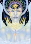 Nine of Air - Dreams of Gaia Tarot