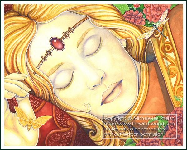 Book - The Sleep of Briar Rose by ravynnephelan