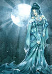 Follow the Moon by ravynnephelan