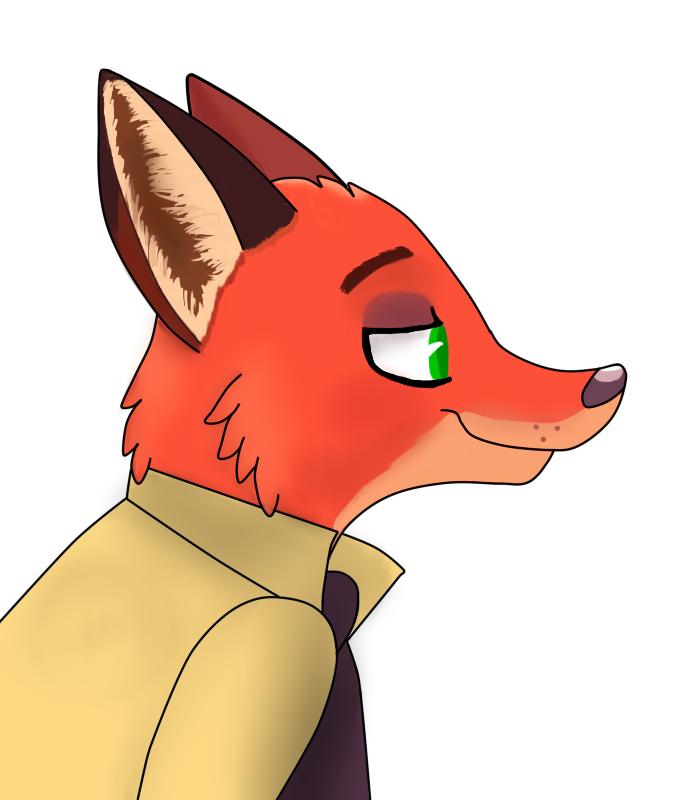 One sly fox by skyscraper6