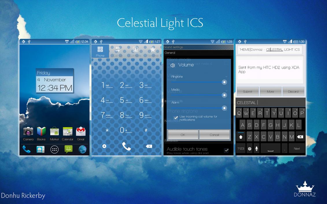 Celestial Light ICS CM7 Theme by kingdonnaz