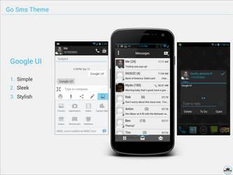 Go Sms Theme - Google UI by kingdonnaz