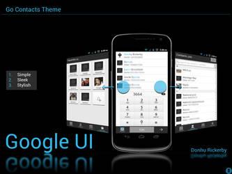 Go Contacts Theme - Google UI by kingdonnaz