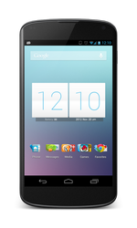 Nexus 4 by kingdonnaz