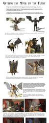 Getting the Moth to the Flame by 3D-Fantasy-Art
