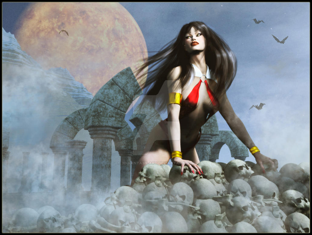 Vampirella by 3D-Fantasy-Art