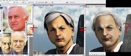 Morse's head and my headache by 3D-Fantasy-Art