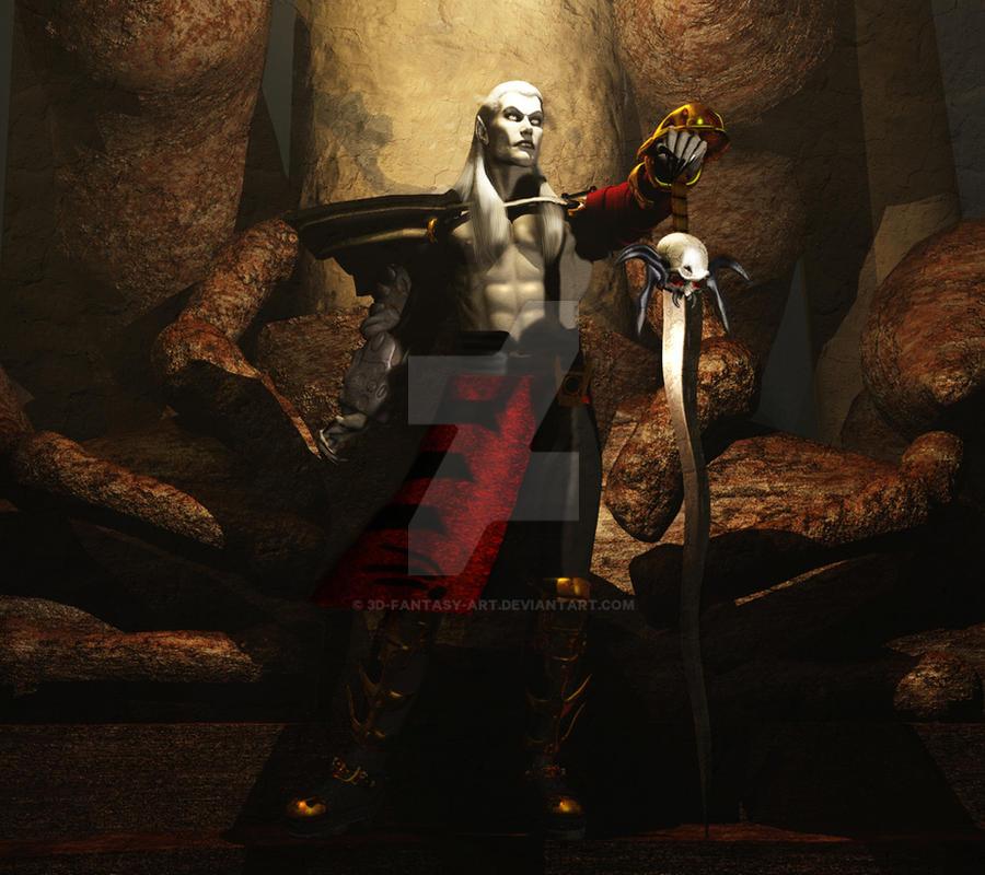 Thus I Claim Nosgoth by 3D-Fantasy-Art