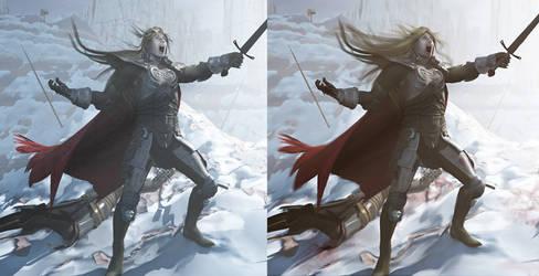 Frozen Wastes Comparison by 3D-Fantasy-Art