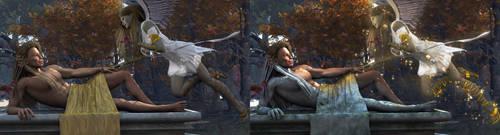The Awakening Comparison by 3D-Fantasy-Art