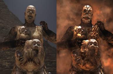 Soul Eater Comparison by 3D-Fantasy-Art