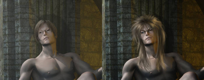 Jareth Comparison by 3D-Fantasy-Art