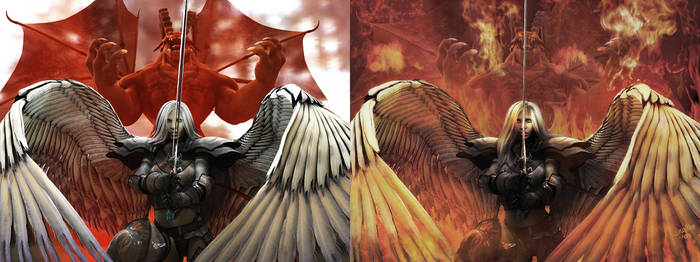 True Grit Comparison by 3D-Fantasy-Art