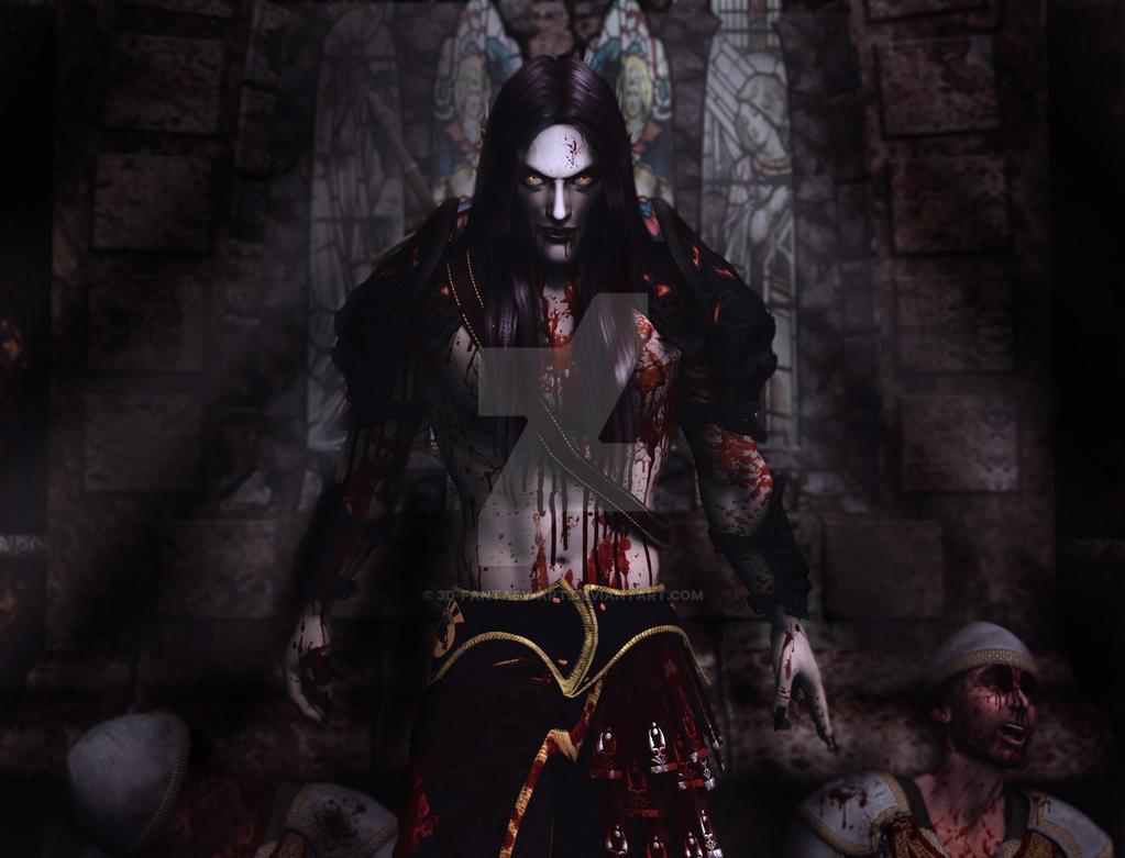 Moody Insane Bloodbath by 3D-Fantasy-Art