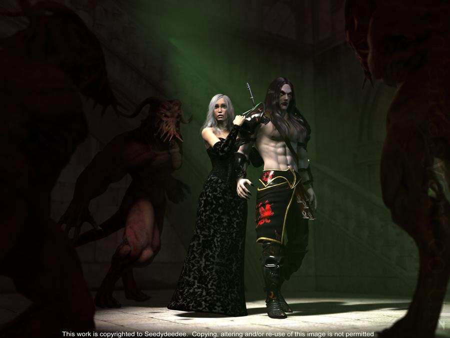 The Curse of the NPC by 3D-Fantasy-Art