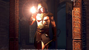 The Dark Cannot Hide You by 3D-Fantasy-Art