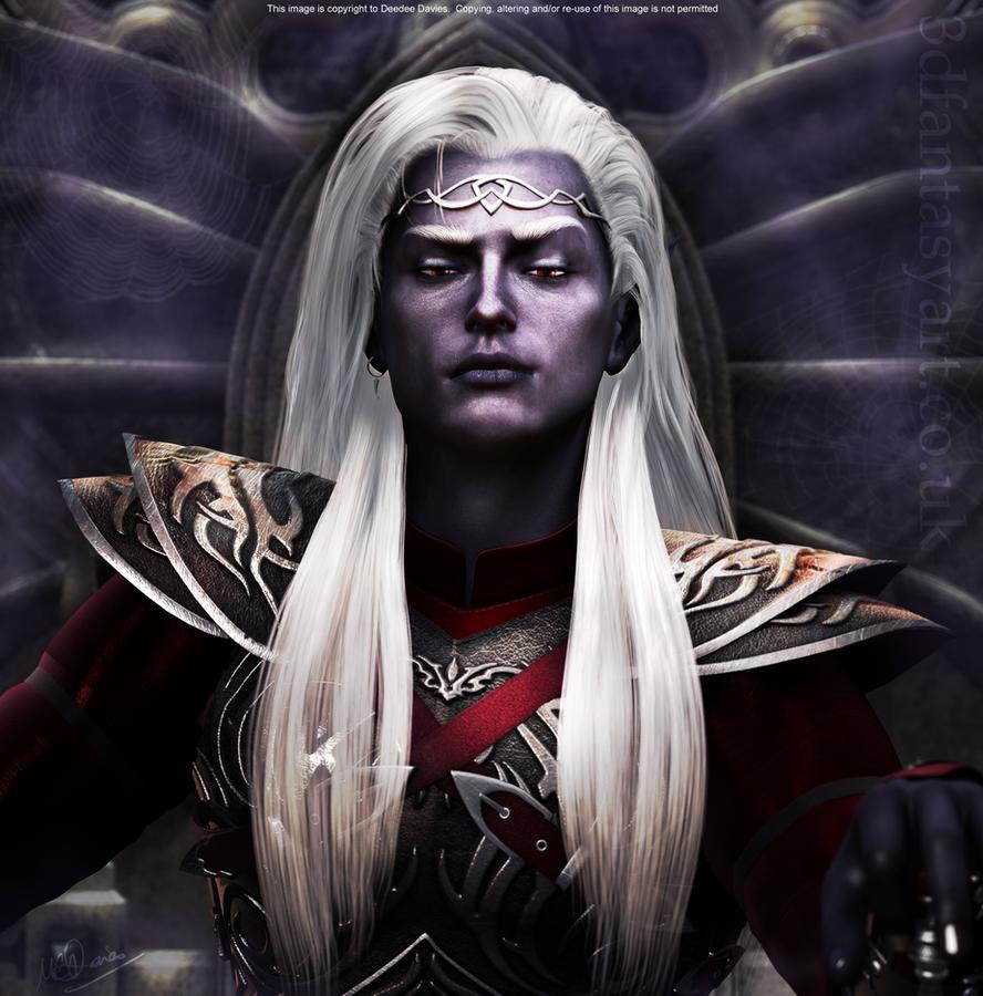 Drow Prince for Mavrosh by 3D-Fantasy-Art