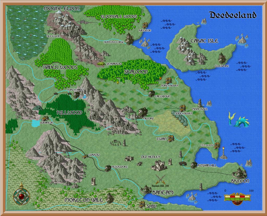 Deedee2d Copy by 3D-Fantasy-Art