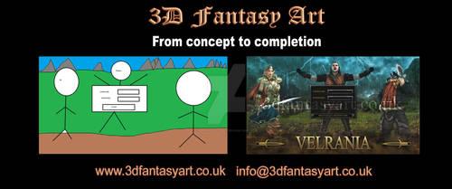 Concept to Completion: Velrania Splash Screen