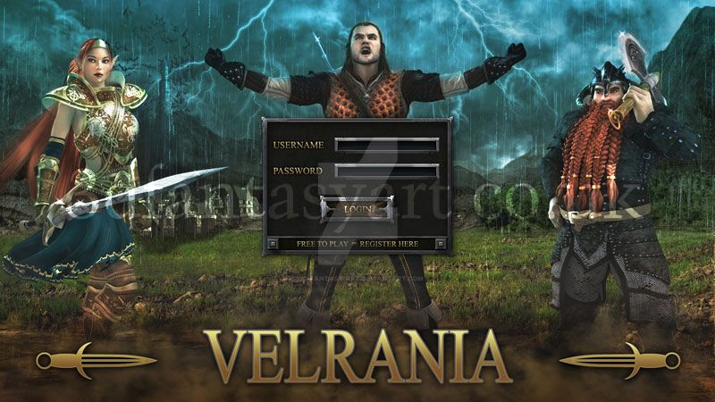 Velrania Home Screen by 3D-Fantasy-Art