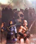 MoTU - He-Man and Skeletor