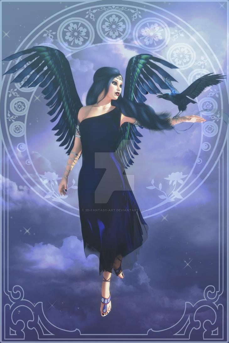 Gothic Angel by 3D-Fantasy-Art