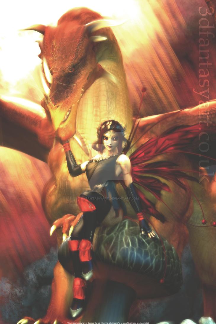 Dark Fairy by 3D-Fantasy-Art