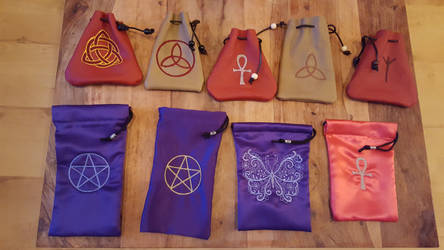 Dice Bags by 3D-Fantasy-Art