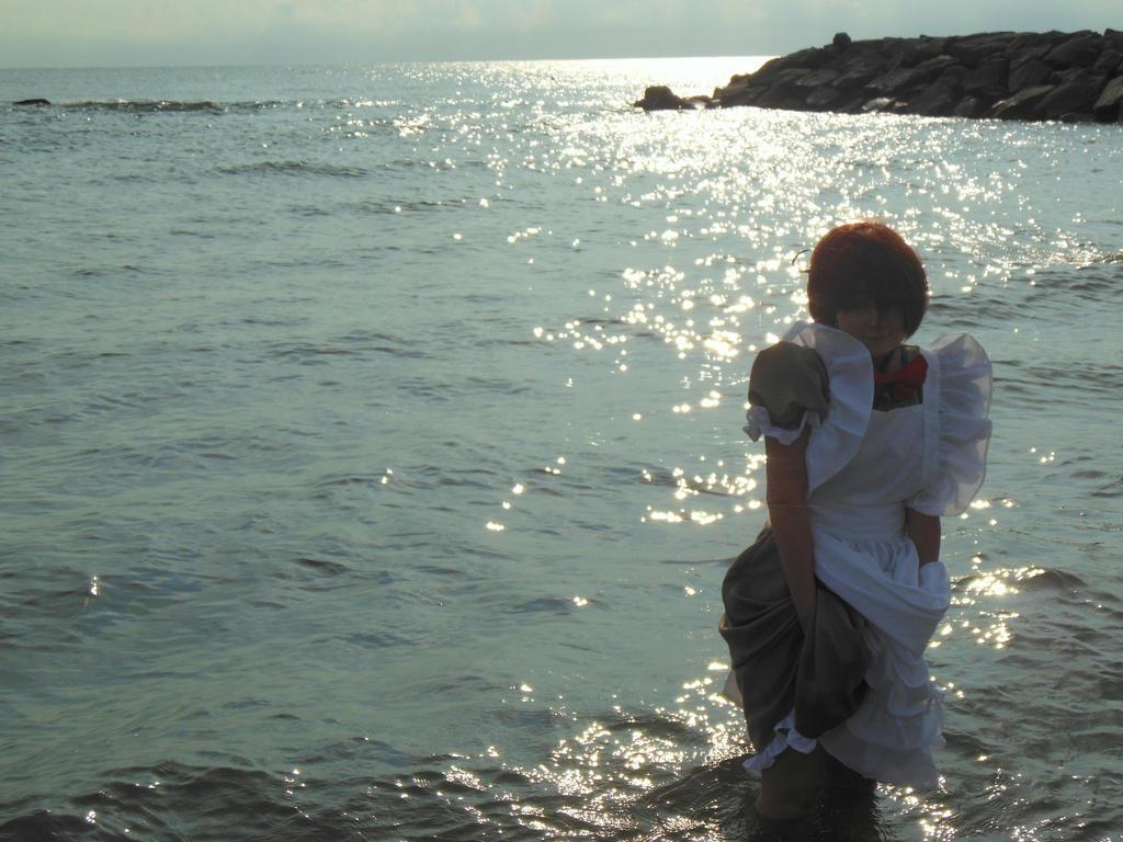 Ricordi - Lovino e il mare. APH Romano by mory-chan