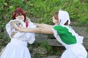 Don't kiss me! APH Romano. by mory-chan