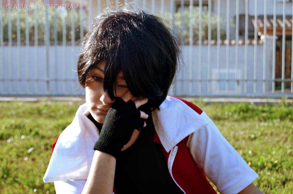 Red trainer cosplay by mory-chan