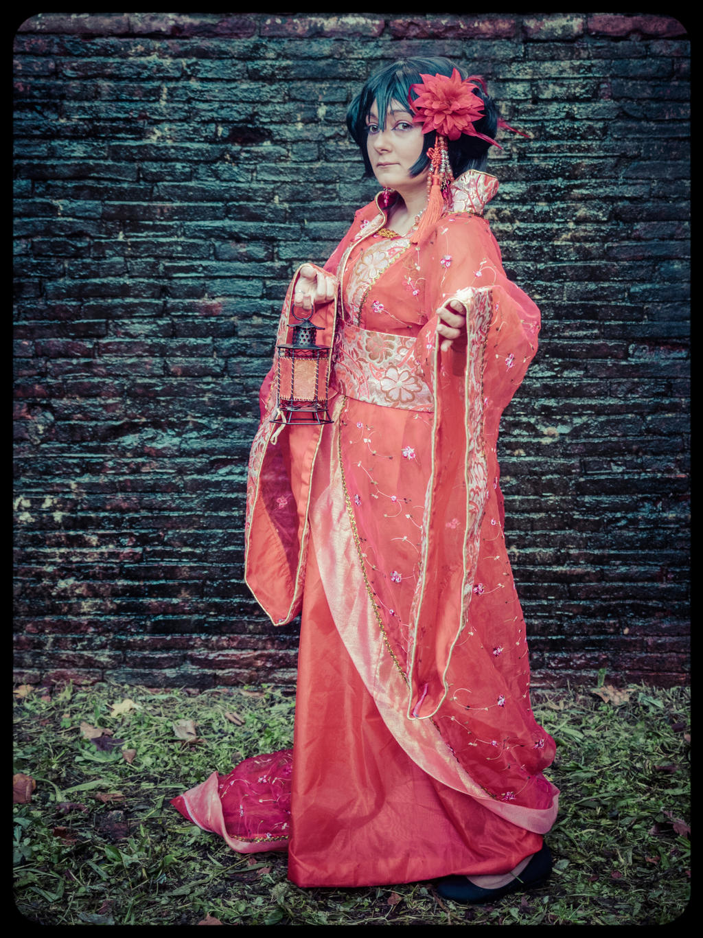 Fem!China - Hetalia cosplay Ancient version. by mory-chan