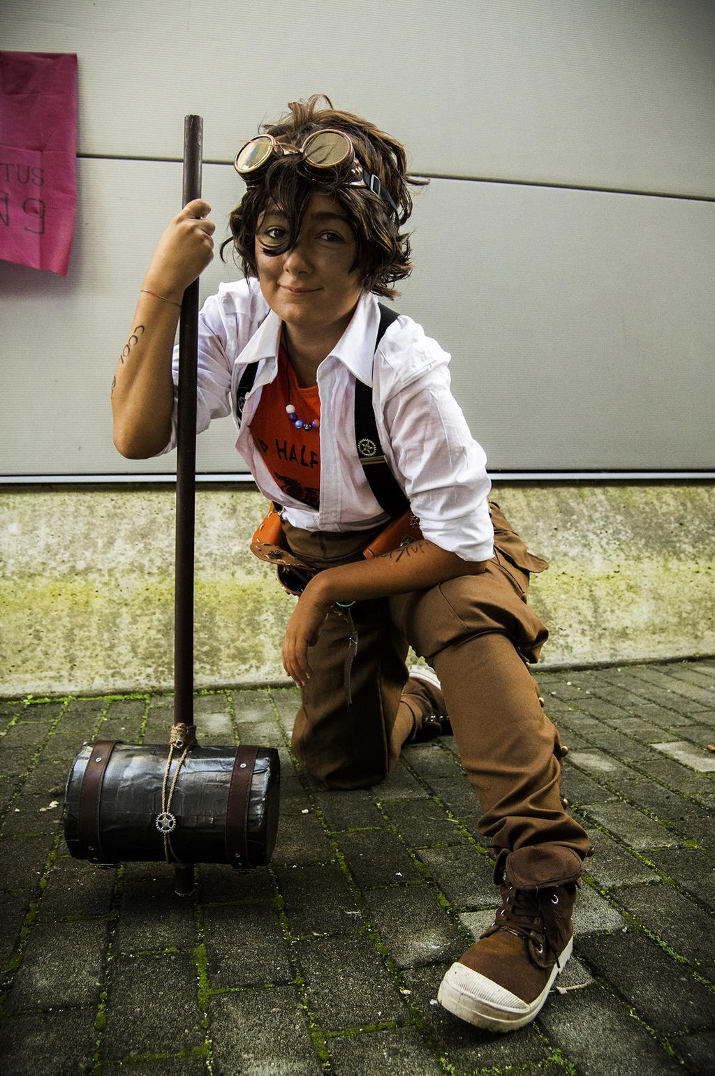 Leo Valdez - Repair Boy! by mory-chan