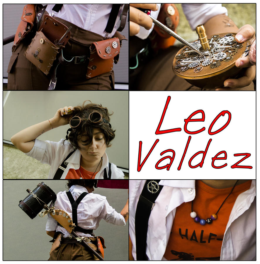Leo Collage by mory-chan