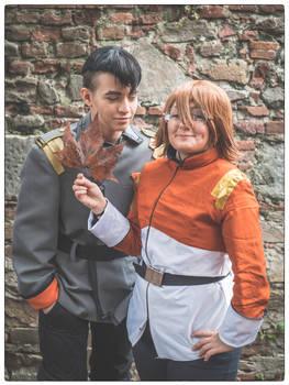 Pidge and Shiro Garrison version