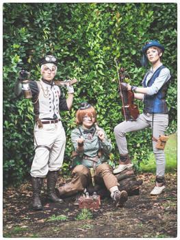 The voltron trio steampunk