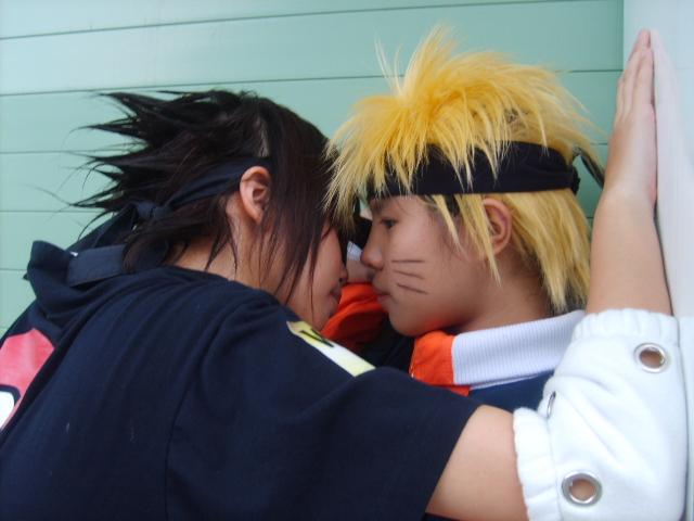 LOS COSPLAY MAS GRACIOSOS Cosplay___Sasuke_X_Naruto_by_Shurasha