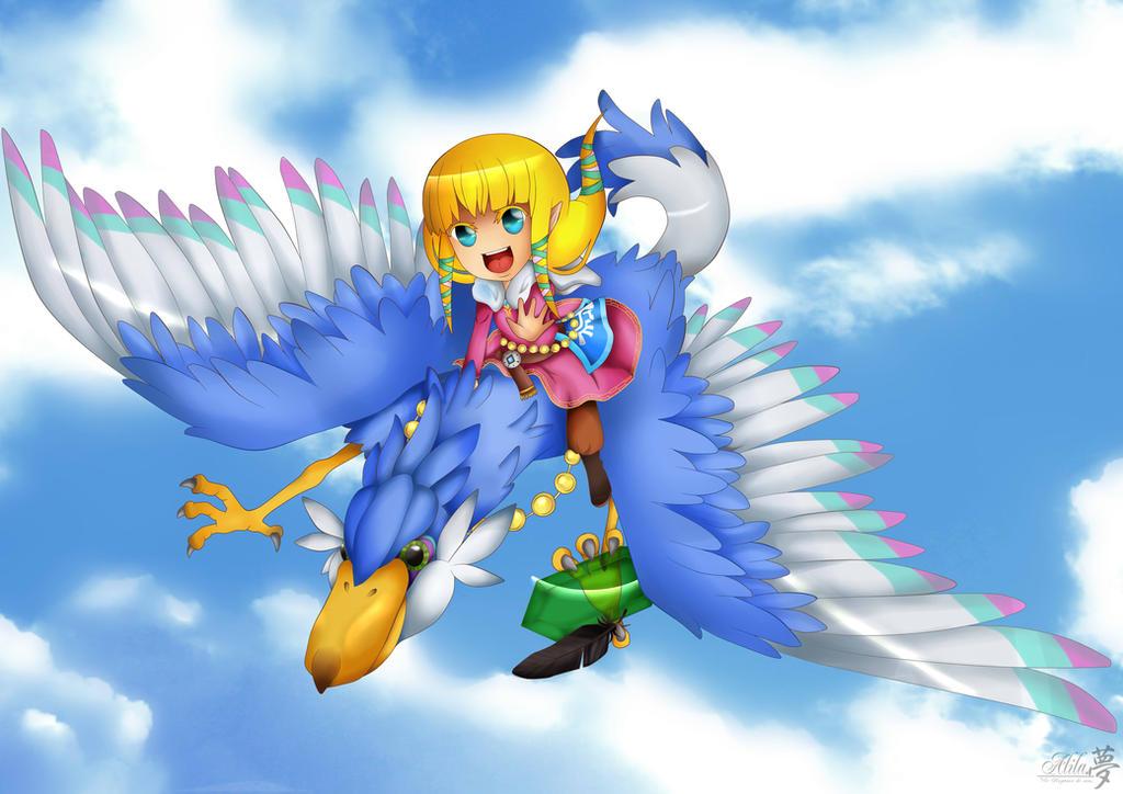 Zelda skyward sword by Alila-Art