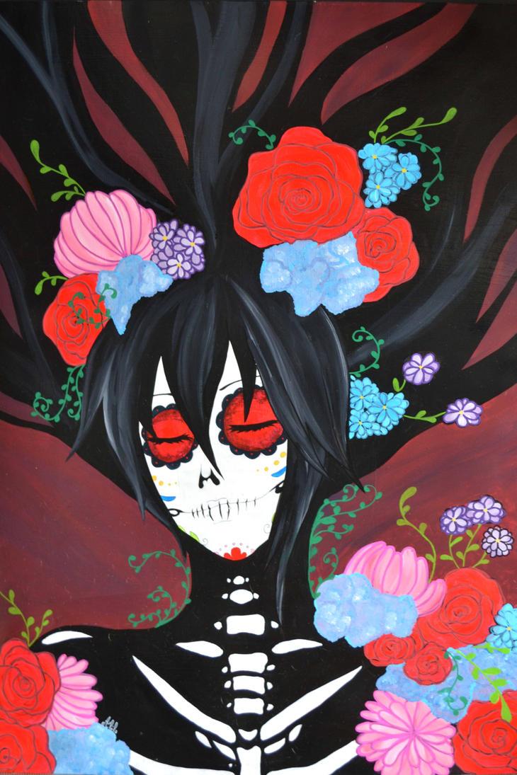 Peinture Muerte by Alila-Art