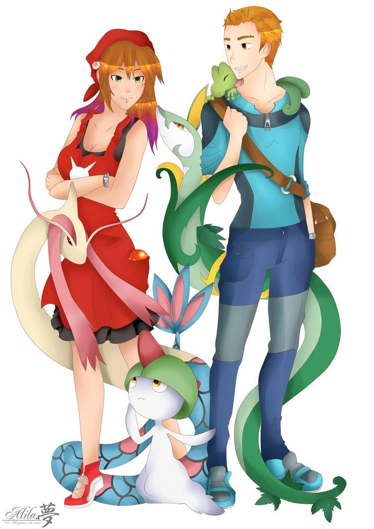 Pokemon Pokefan  Best friend by Alila-Art
