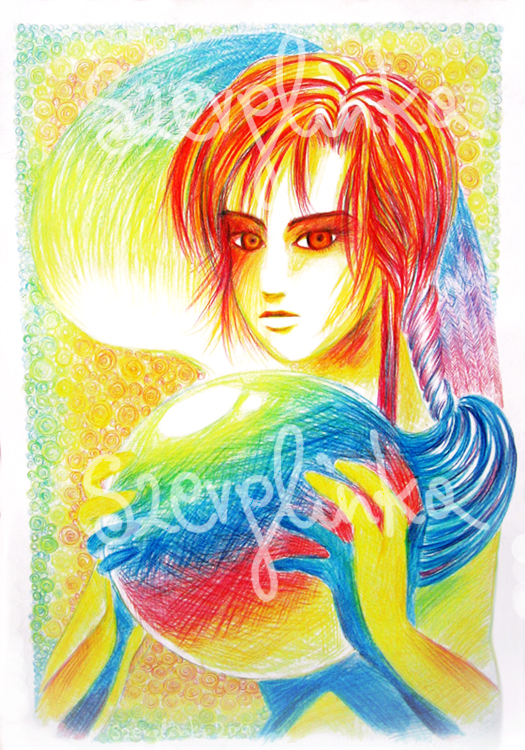 Goddess of Inspiration by szerglinka