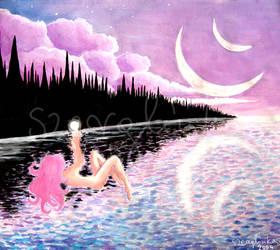 Violet Moons by szerglinka