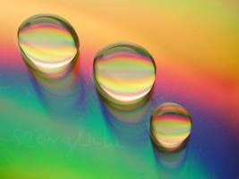 Rainbow Drops by szerglinka