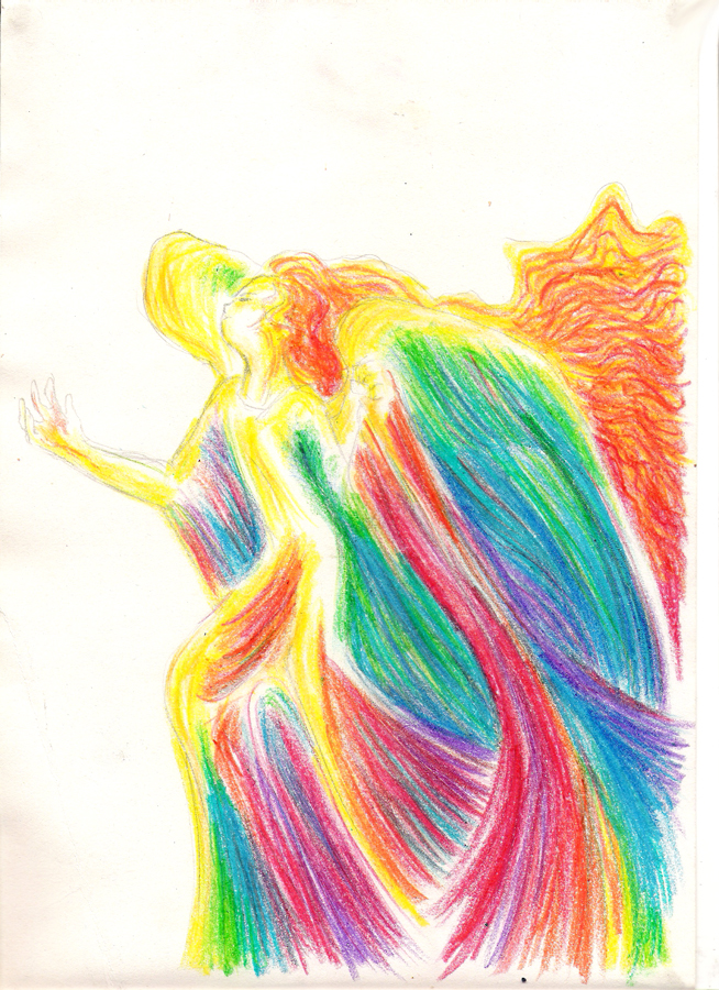The Angel of Redemption by szerglinka