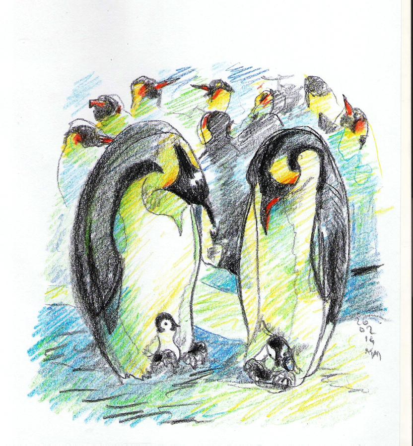 Penguins by szerglinka