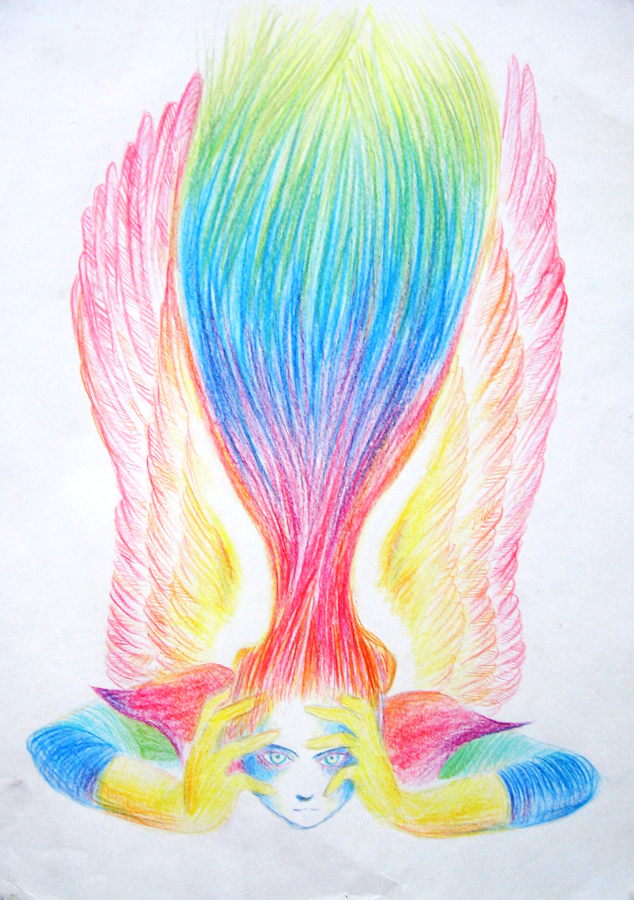 The Angel of Imagination by szerglinka