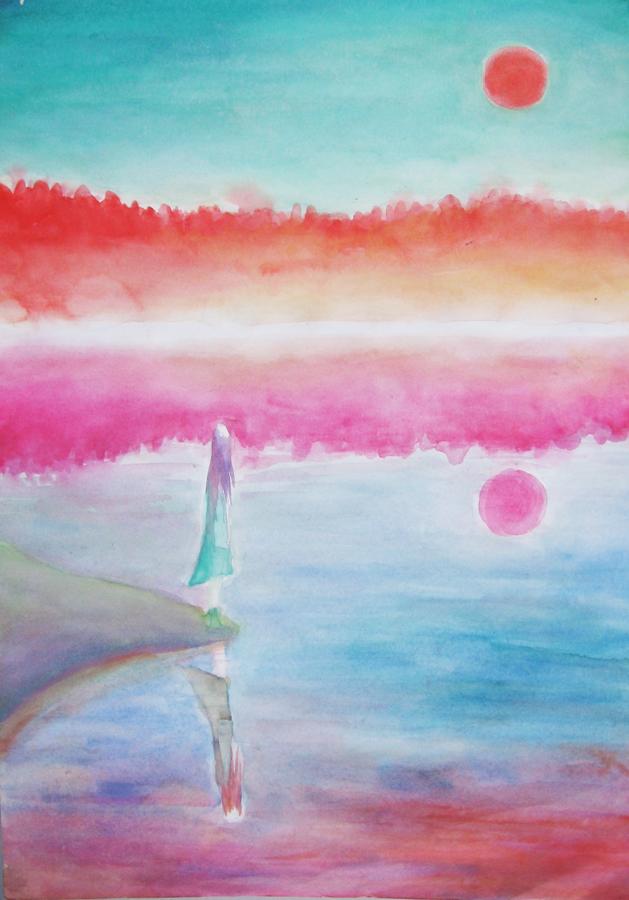 The Toxic Lake by szerglinka